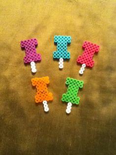 Perler bead pins by Anna