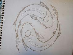 Risultati immagini per koi fish drawings in pencil Koi Fish Drawing, Koi Fish Tattoo, Fish Drawings, Art Drawings Sketches, Animal Drawings, Pencil Drawings, Fish Sketch, Coy Fish, Koi Art