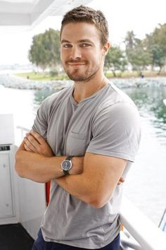 Stephen Amell from Arrow.