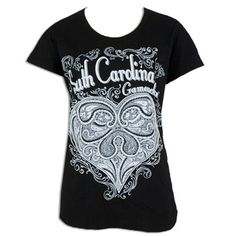 South Carolina Gamecocks Paisley T-shirt