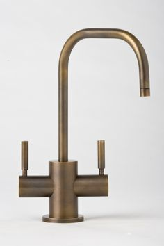 Fulton Two Handle Single Hole Hot and Cold Water Dispenser Faucet with Lever Handle | Wayfair
