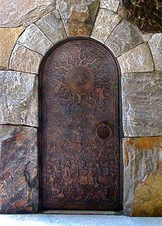 Bell Tower Door Westminster School Atlanta GA