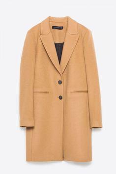 Zara Masculine Coat, £99.99