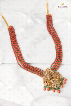 Tassel Necklace, Crochet Necklace, Indian Goddess, Pearl Beads, Antique Jewelry, Corals, Emeralds, Antiques, Pendant