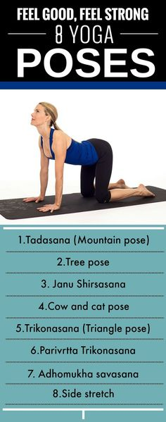 Yoga Exercises For Stretching Your Body