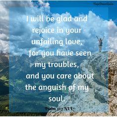 Rejoice in your unfailing love.