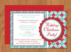 Christmas open house invitation wording holiday open house ideas diy do it yourself christmas party invitation editable template microsoft word format solutioingenieria Image collections
