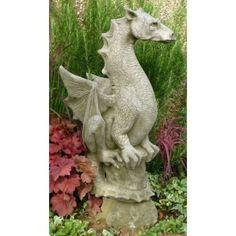 Halvard Statue   Stone Dragon   Garden Dragon
