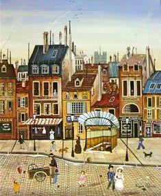 Leap Movie, Delacroix Paintings, Metro Paris, Naive Art, Illustrations, Sculpture, Beautiful World, Home Art, Art Dolls