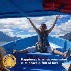 At one of the world's most beauitful spiritually powerful and sacred lakes Lake Atitlan we asked this young retiree from New York what happiness is. #LakeAtitlan #happiness #whatishappiness #backpackbuddha by backpack_buddha