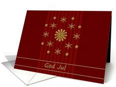 God Jul - Norwegian Christmas Card