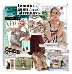 """I want to go on adventures"" by rachel-is-epic ❤ liked on Polyvore featuring Magenta, Valentino, Chicwish, Philosophy di Lorenzo Serafini, Betsey Johnson, Alaïa, Urban Decay, Marc Jacobs, Guerlain and Summer"
