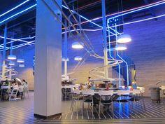 The world biggest roller coaster restaurant  #food