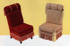 how to: Victorian armchair