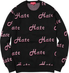 Supreme Hate Sweater