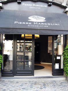 La chocolatier Pierre Marcolini