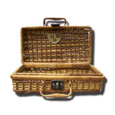 cestita de mimbre productos seleccionados de la categoría hogar, objetos con encanto, antigüedades, segunda mano, vintage