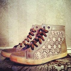 Never liked snickers, but these are something else. Atlas Crochet Sneaker style pic on Free People