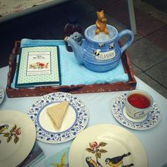 Poetry Teatime Now We Are Six, Irish Poems, Tea Companies, Tea Art, Piano Lessons, He Is Able, Lemon Curd, National Poetry Month, Special Guest