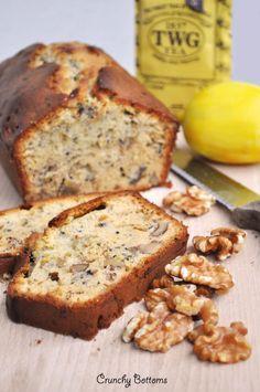 Earl Grey, Walnut and Lemon Cake