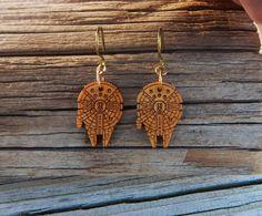 Star Wars Jewelry Star Wars Earrings Millennium by GenuineTwinkie