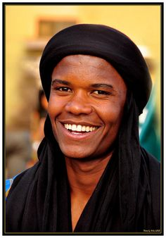 Africa |  Tuareg man from the Southern Moroccan deserts photographed in Marrakesh by @ila GeReB on Flickr.