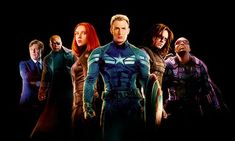 Captain America 2 characters.
