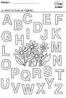 Colorier les lettres de l alphabet