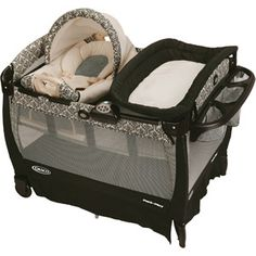 Graco Pack 'n Play Playard with Cuddle Cove Rocking Seat, Rittenhouse @ Walmart