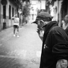 Luisón: Madrid. Street Photography in BW (7). October 2014...