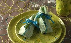 Watch Fold a Baby Bootie Napkin in the Better Homes and Gardens Video