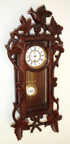 Antique Clock Vienna Regulator