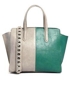 ASOS Handheld Bag with Chunky Chain Handle