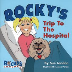 Children feel the unconditional love and healing from Rocky in this special book designed to help children heal physically and emotionally. Based on a true life story of author Sue London. Available to purchase at AskSueLondon.com