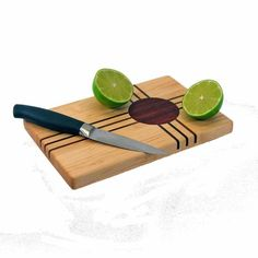 Inlaid Wooden Cutting Board by Grand Prairie Woodworks
