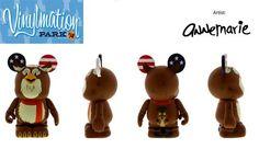 """Park Series 14 Ollie the Owl America Sings from Disneyland Disney Vinylmation 3"""" inch Figure"""