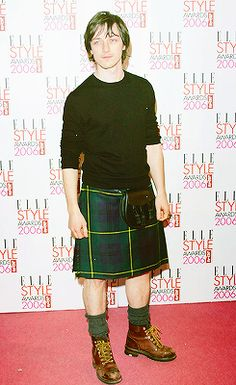 James MacAvoy. He. This. Uhmm. Kilt.