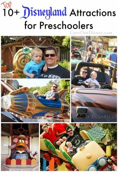 The top 10+ attractions for preschoolers at the Disneyland Resort from http://LoveOurDisney.com