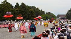 Aoi Matsuri Parade at Imperial Palace Kyoto