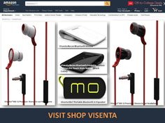 Explore latest electronics products to enrich your tech experience. Compatible with smartphone. High quality products. Most popular electronics product on amazon from shop visenta. Check all the reviews. Enjoy competitive price with faster shipping. Buy electronics on Amazon Shop Visenta - Trusted seller. Buy portable audio equipment, foldable mouse, Bluetooth mouse, all PC accessories. Visenta Mo7 Portable Bluetooth 4.0 Speaker, Built-in Microphone,Compatible with Smartphone,Laptop,Tablet…