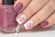 Elegant+nails+design+with+beautiful+rose+by+LadyQueenShop+-+Nail+Art+Gallery+nailartgallery.nailsmag.com+by+Nails+Magazine+www.nailsmag.com+%23nailart