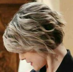 Side view of Linsey Godfrey's cute cut!