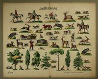 Aufstellbilder. No. 7224. [Jagd] http://skd-online-collection.skd.museum/en/contents/artexplorer?filter[OBJEKTART]=Bilderbogen