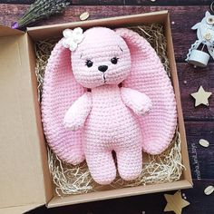 2019 All Best Amigurumi Crochet Patterns - Amigurumi Free Pattern The most admired amigurumi crochet toy models in 2019 are waiting for you in this article. The most beautiful amigurumi toy patterns are all on this site.Layla crochet bunny free pattern b Crochet Bunny Pattern, Crochet Rabbit, Crochet Amigurumi Free Patterns, Crochet Dolls, Amigurumi Tutorial, Crochet Crafts, Crochet Projects, Stuffed Animal Patterns, Amigurumi Doll