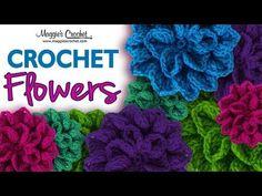 Seven Free Flower Crochet Patterns : Maggie's Crochet Blog