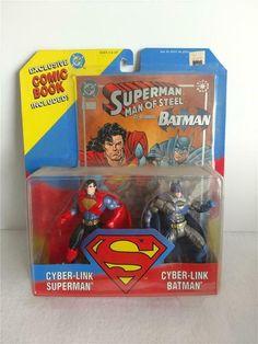 "Mattel Man of Steel Laser Sight Superman Action Figure Laser Launcher 4/"" NEW IN BOX"