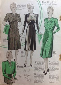 Inside Woman and Home  magazine from February 1942