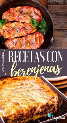 Recetas con berenjenas Vegetable Dishes, Vegetable Recipes, Eggplant Recipes, Cooking Recipes, Healthy Recipes, Middle Eastern Recipes, Going Vegan, Food Preparation, Vegan Vegetarian