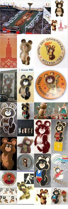 Misha Olympics Moscow 1980: #Olympics #Moscow 1980, #Misha