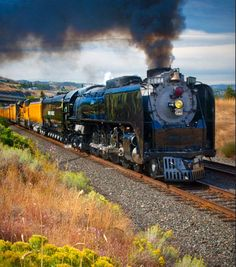 UP steam locomotive # 844 at the Dalles, Oregon